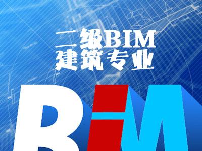 二级BIM(建筑)深度精讲班